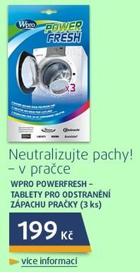 Powerfresh - tablety pro odstranění zápachu pračky (3ks)
