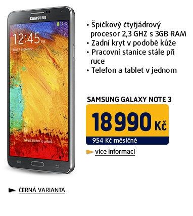 Galaxy Note 3 (N9005/32GB) Black