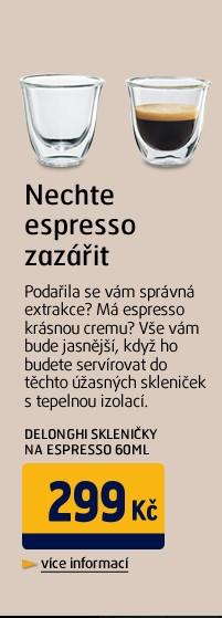Skleničky na espresso 60ml
