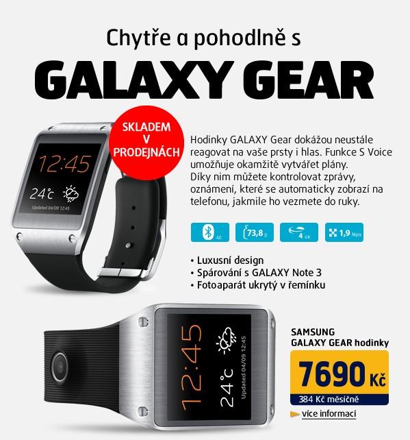 Galaxy Gear Black hodinky