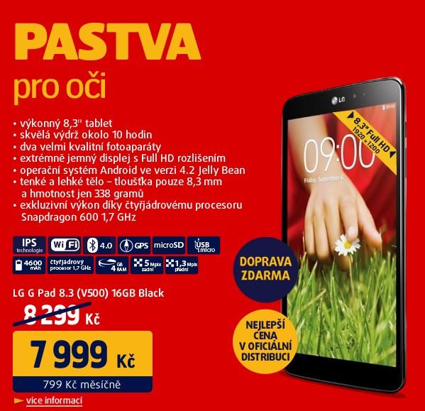 G Pad 8.3 (V500) 16GB Black
