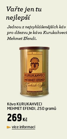 Kurakahveci Mehmet Efendi - káva do džezvy, 250g