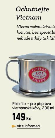 Phin filtr - pro přípravu vietnamské kávy 200ml