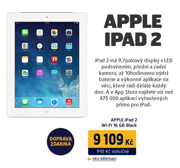 iPad 2 WI-FI 16GB bílý