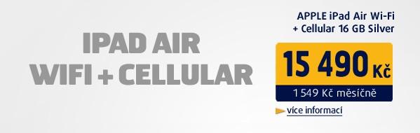 iPad Air Wi-Fi+Cellular 16GB Silver