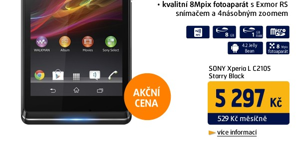 Xperia L C2105 Starry Black