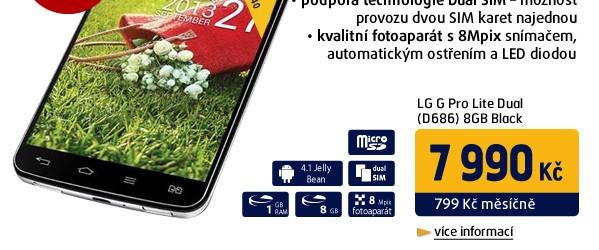 G Pro Lite Dual (D686) 8GB Black