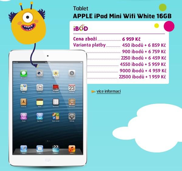iPad Mini Wifi White 16GB