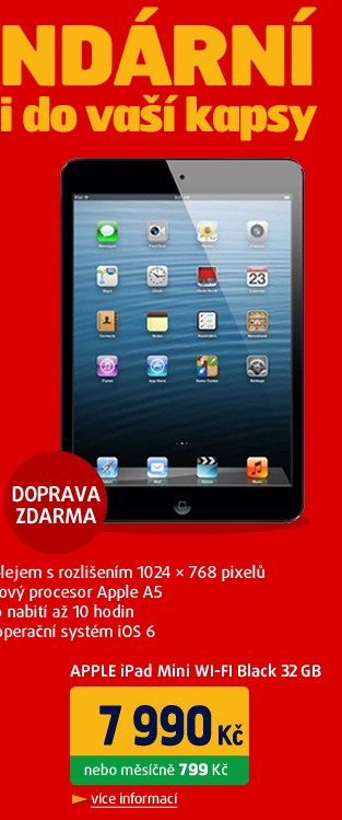iPad Mini Wifi Black 32GB
