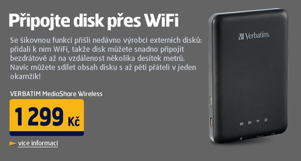 MediaShare Wireless Portable, SDHC, USB, Wifi