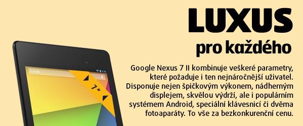 Google Nexus 7 II by Asus WIFI  (2013)/16G/2G/B/A černý