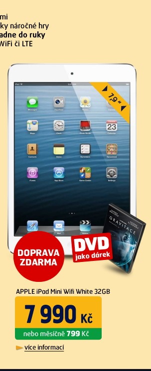 iPad Mini Wifi White 32GB