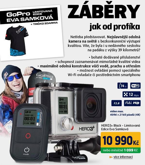 HERO3+ Black - Limitovaná Edice Eva Samková