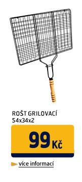 ROŠT GRILOVACÍ,OBDÉL..54X34X2
