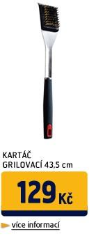 KARTÁČ GRILOVACÍ 43,5CM