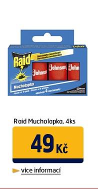 Mucholapka, 4ks