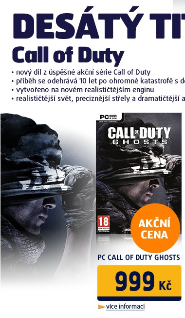 PC CALL OF DUTY GHOSTS
