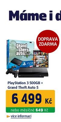 PS3 500GB GTA V
