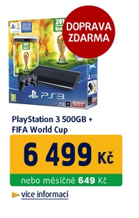 PS3 500GB/FIFA World Cup (PS3)/EXP