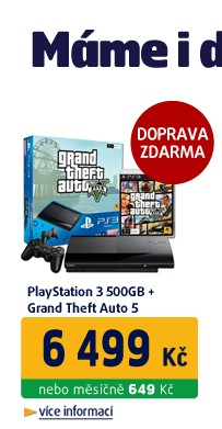 PS3 500GB GTA V