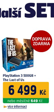 Playstation 3 500GB + The Last Of Us