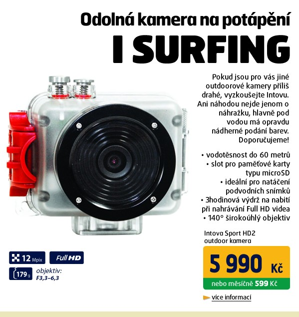 Sport HD2 outdoor kamera