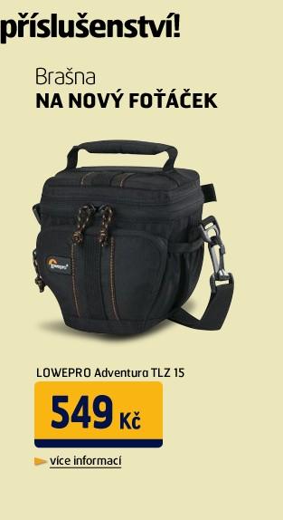 Adventura TLZ 15 black