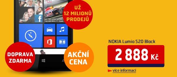 Lumia 520 Black
