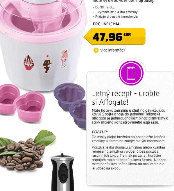 ICM14 zmrzlinovač