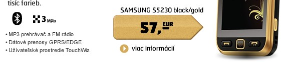 S5230 black/gold