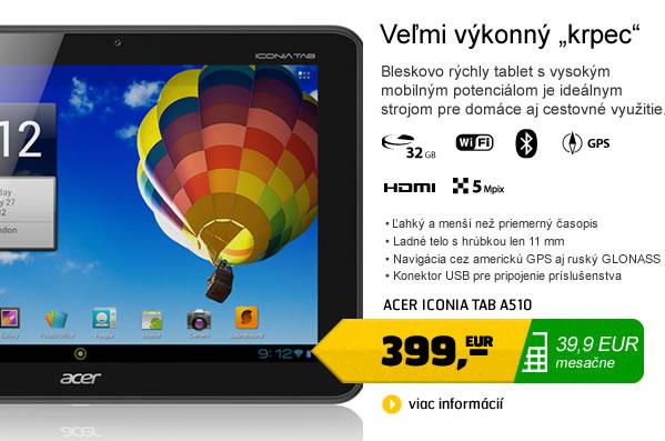 Iconia Tab A510
