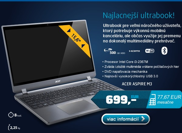 Aspire M3-581TG-32364G52Mnkk W7HP