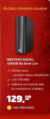 HDD 3,5'' 1000GB ethernet My Book Live