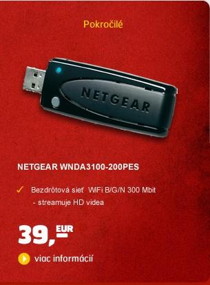 Dual Band USB adaptér WNDA3100-200PES