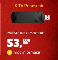 TY-WL20E (Wi-Fi USB adaptér ku SMART TV a BD Panasonic)