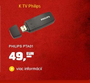 PTA01 (Wi-Fi USB adaptér ku SMART TV a BD Philips)