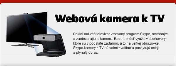 Webová kamera k TV