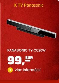 TY-CC20W (SKYPE kamera ku SMART TV Panasonic)