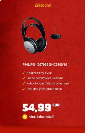 1267965 SHC5100/10 bezdrátová sluchátka