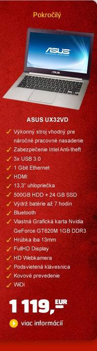 UX32VD 13,3/3517U/24SSD+500G/4G/NV/B/7P