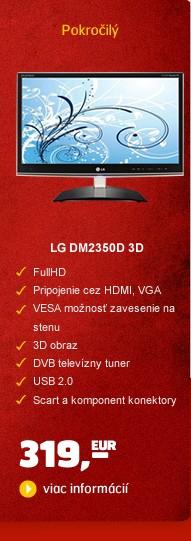 LED DM2350D 3D