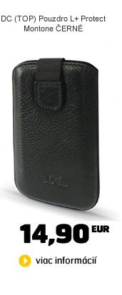 DC DC (TOP) Pouzdro L+ Protect Montone ČERNÉ (iPhone 5)