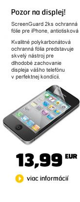 BELKIN ScreenGuard 2ks ochranná fólie pro iPhone, antiotisková