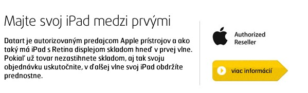 iPad with Retina display 16GB Wi-Fi černý
