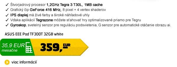 EEE Pad TF300T 32GB white