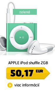 iPod shuffle 2GB - Green