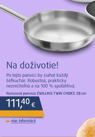 Zwilling TWIN Choice nerezová pánev, 28 cm