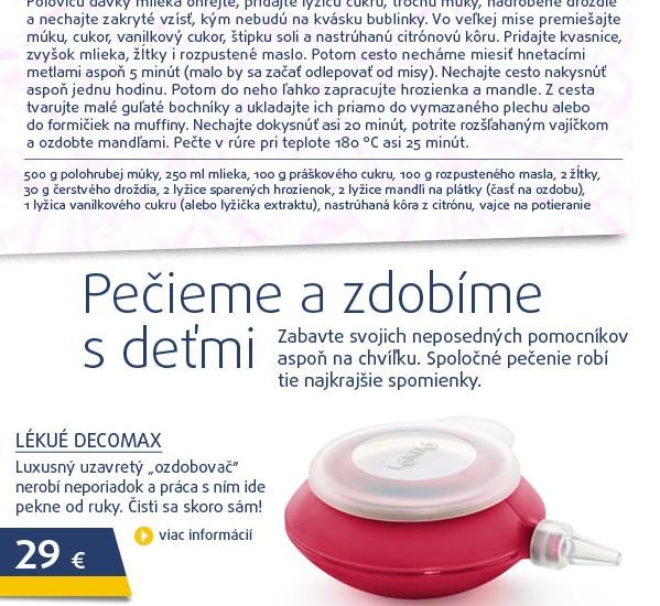 DECOMAX (cukrář. sáček / zdobítko), 6 ks