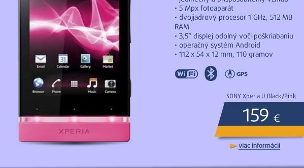 Xperia U Black/Pink