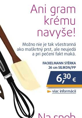 Stěrka26cm silikon/PP